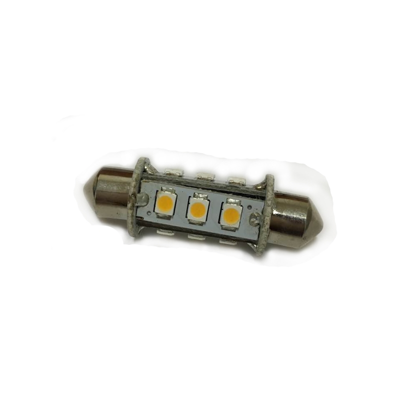 LED SPOLLAMPA 39MM 12 DIODER