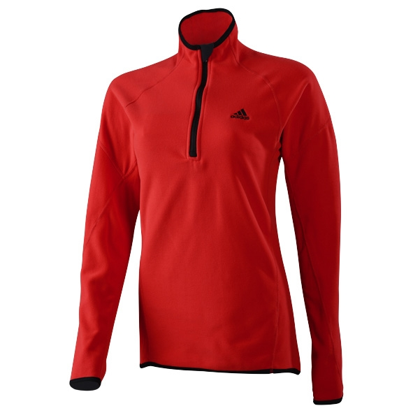 Microfleece 1/2 zip, dam