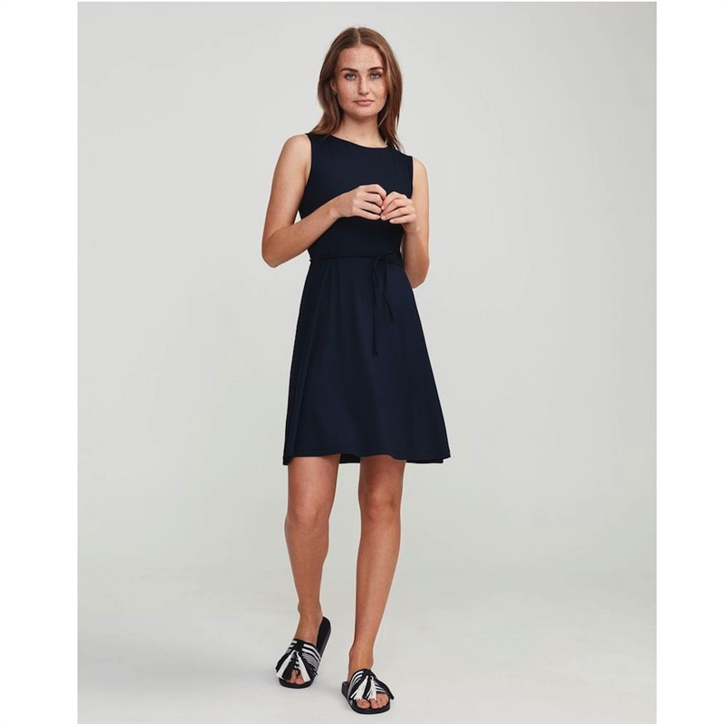 HOLEBROOK MELANIE DRESS NAVY