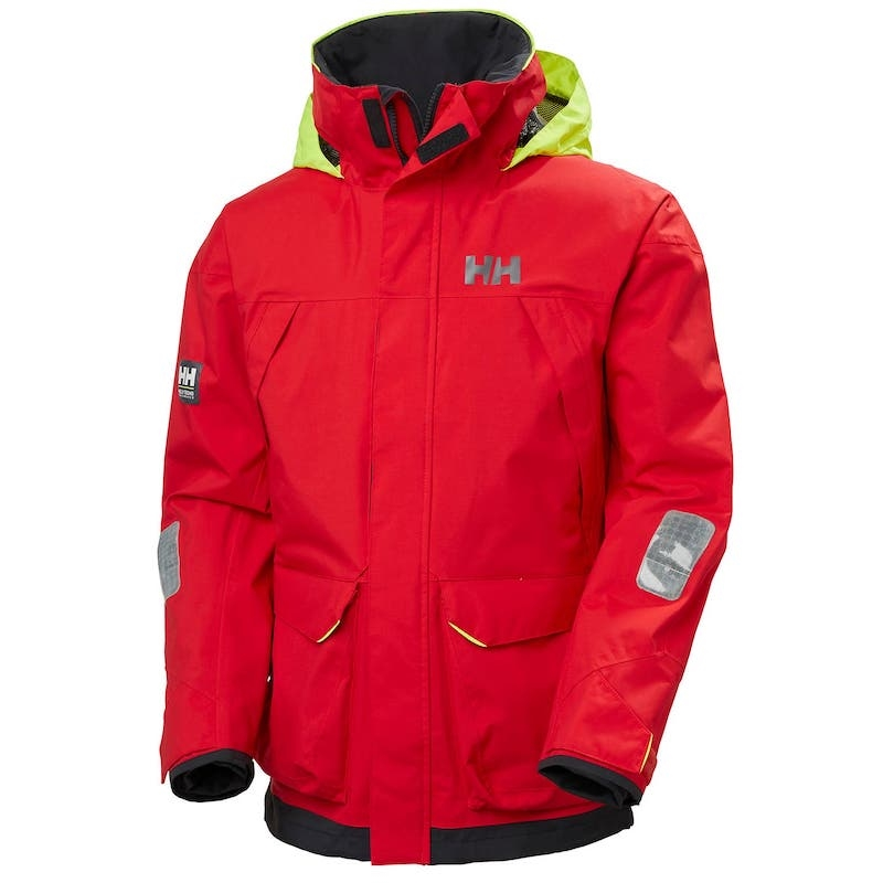 PIER JACKET RED HERR