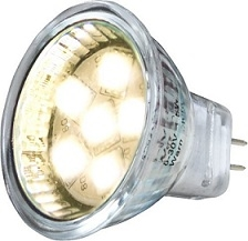Smd Led Varmvit Mr11 Fattning