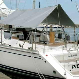 solskydd till båt