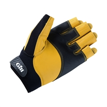 7442_Pro Gloves_Short Finger_Black_2