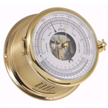 Barometer 180mm mässing